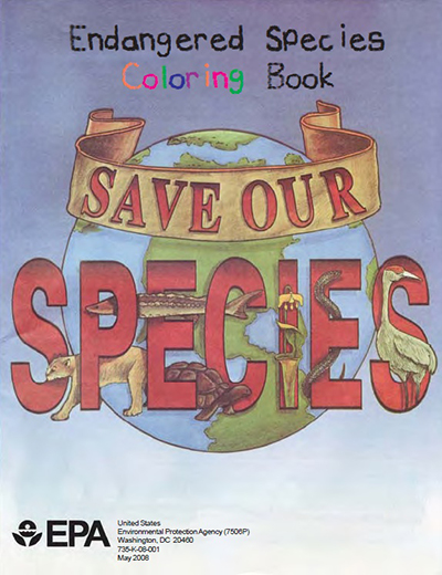 Save Our Species: ESA Endangered Species Coloring Book
